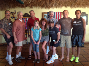 July 17, 2014: Wearing short pants as part of the meeting theme of shorts